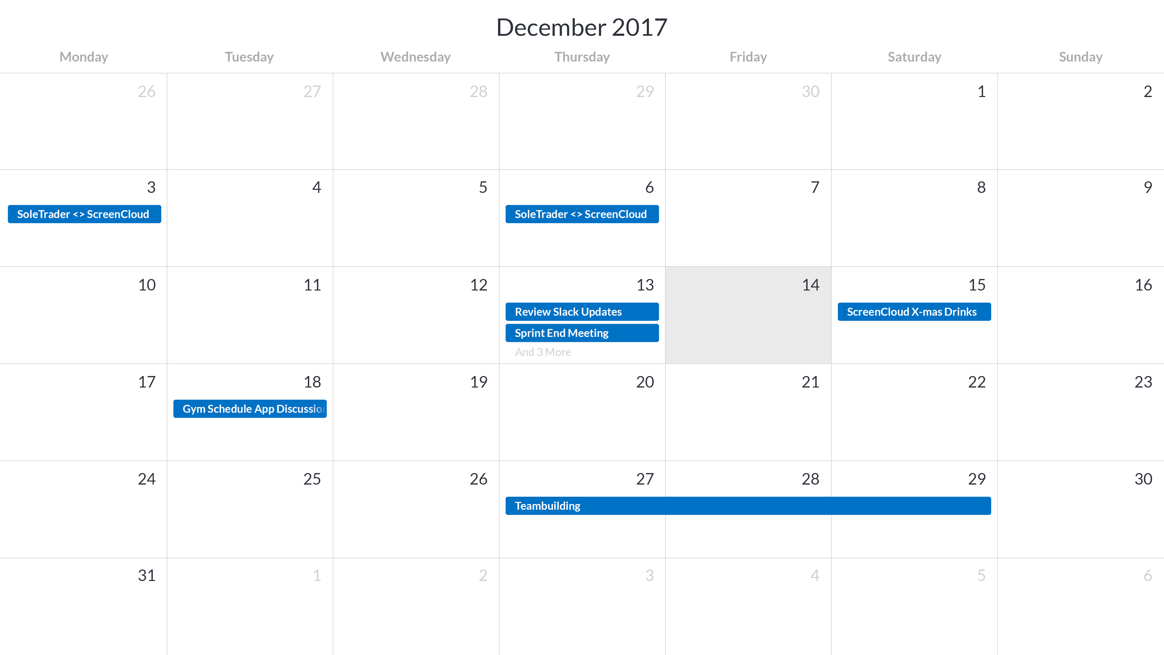 Outlook Calendar screenshot 1
