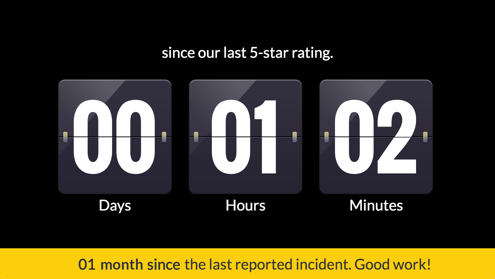 Count Up Timer screenshot 1
