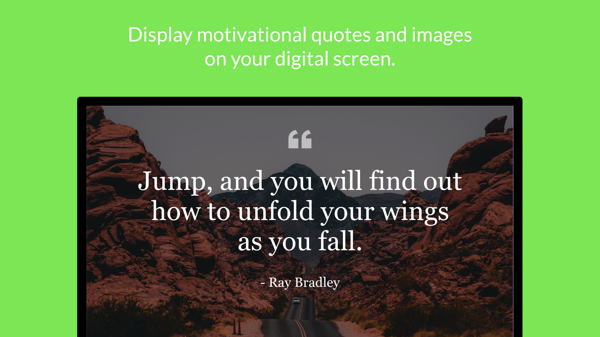 Inspirational Quotes App screenshot 1